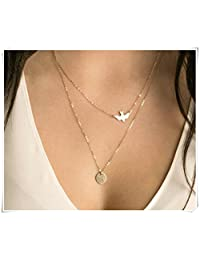 sea-Maiden®Rose Gold/Dainty Necklaces/Layered and Long