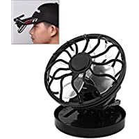 Meanhoo Solar Cell Fan Sun Power Energy Panel Clip-on Cooling Cooler Camping Hiking BY Camping Hiking Outdoor