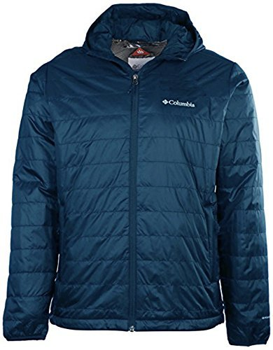 Columbia Men's Crested Butte Omni-Heat Hooded Jacket (Navy, M)