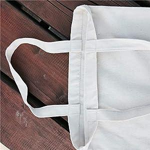 Scrox - Bolsa de playa beige Bolsa de tela de cáñamo y algodón ...