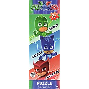 PJ Masks 24 Piece Tower Jigsaw Puzzle - Catboy Gekko Owlette - Its Time To Be