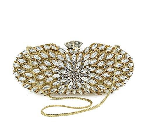 Dames De Luxe Mode Main à De De Gold KYOKIM Sac 8IwOxYqBt