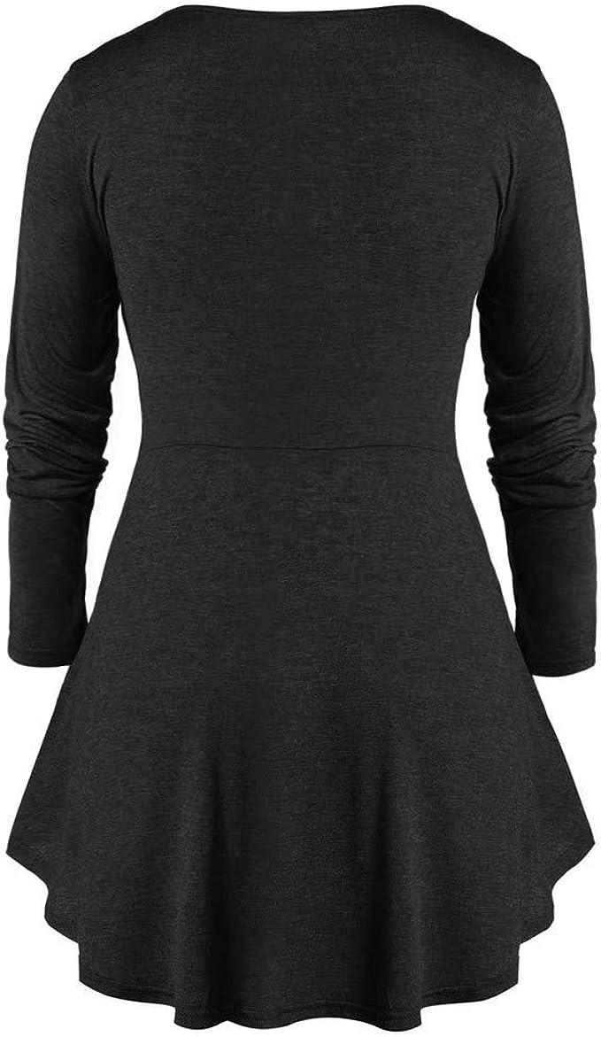 Ladies Square Neck Peplum Tunic short Dress navy blue size 16