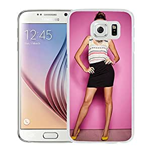New Custom Designed Cover Case For Samsung Galaxy S6 With Sandra Kubicka Girl Mobile Wallpaper(30).jpg