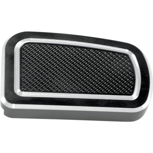 Thunder Cycle Designs Rear Brake Pedal Cover - Black Anodized (Thunder Cycle Designs)