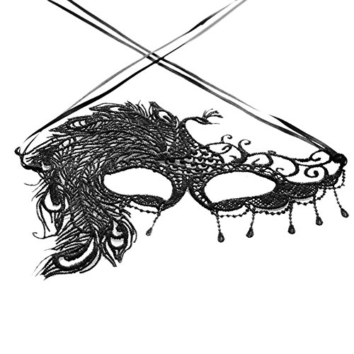 Confidanilin Halloween Masquerade Cosplay Costume Party Lace Fancy Eye Mask