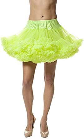 Malco Modes Alyse Luxury Chiffon Adult Petticoat Slip, Adjustable Waist