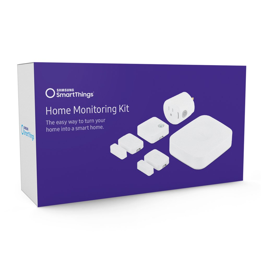 Samsung SmartThings F MN US 2 Home Monitoring Kit White
