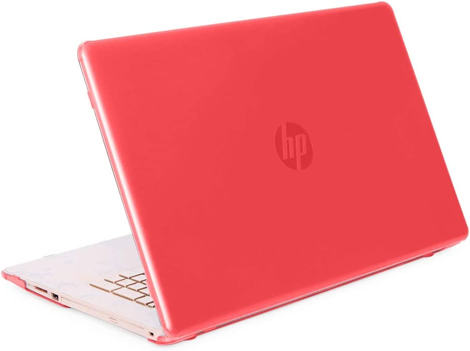 """mCover Hard Shell Case for 17"""" HP 17-BY0000 Series (17-BY0000 to 17-BY9999) Notebook PC (NOT Fitting Other HP Pavilion or Envy laptops) - HP-17BY Red"""