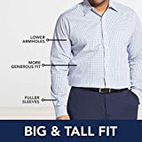 IZOD Men's Big and Tall Button Down Long Sleeve