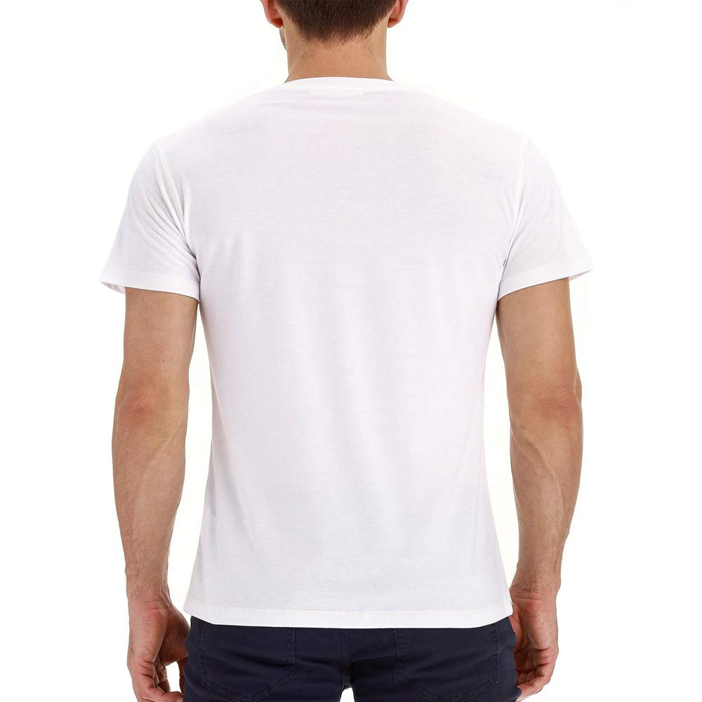 Gdtime Camiseta de Manga Corta de algod/ón para Hombre Camiseta Deportiva de Verano.