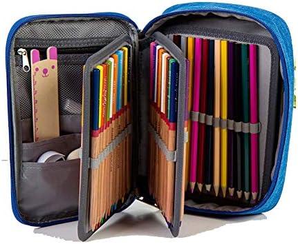 Amazon.com: KaiMap Estuche para lápices, 72 ranuras, estuche ...