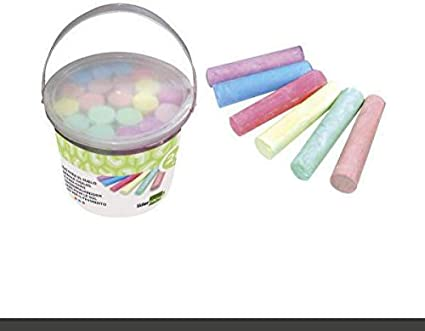 Liderpapel-Pack de 20 tizas, Multicolor, (TZ05): Amazon.es: Juguetes y juegos