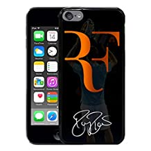 iPod 6 Phone Case,World Tennis Star Roger Federer Popular Gifts Case Cover for iPod Touch 6 (Black)