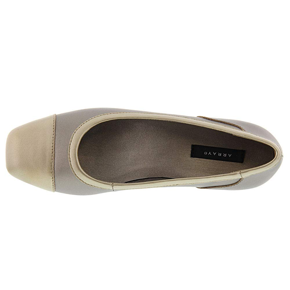 Array Womens Madison Leather Square Toe Loafers