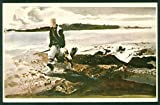 Coot Hunter Andrew Wyeth Watercolor Painting Art