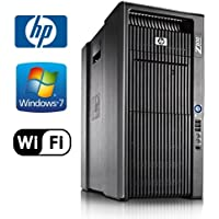 HP Z800 Workstation - Intel Xeon 3.47GHz X5690 HEX Core, 24GB DDR3, 2x NEW 1TB HDD, Windows 7 Pro 64-Bit, WiFi, DVDRW, NVIDIA Quadro 600 (1x Display Port, 1x DVI-I)