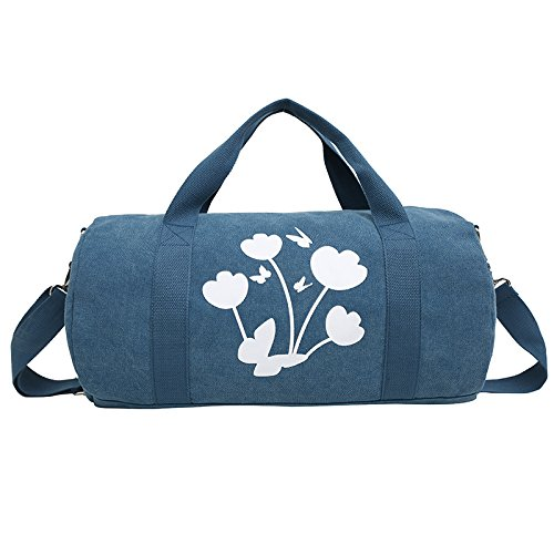 duffel bag iEnjoy bag or training blue qwg7gIf