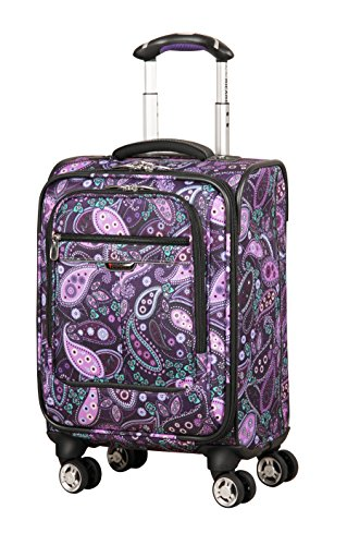 Ricardo Beverly Hills Mar Vista 4 Wheel Expandable Wheelaboard, Purple Paisley