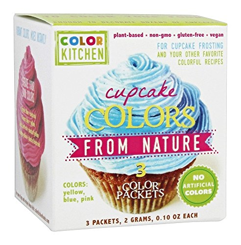 ColorKitchen Cupcake Coloring Set (PINK, YELLOW, and BLUE)