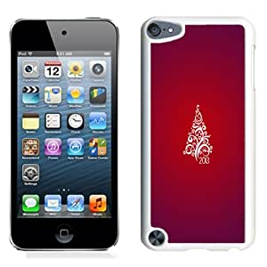 Fashionable Phone Case Red Christmas Tree 2013 iPhone 5 Wallpaper in White.jpg