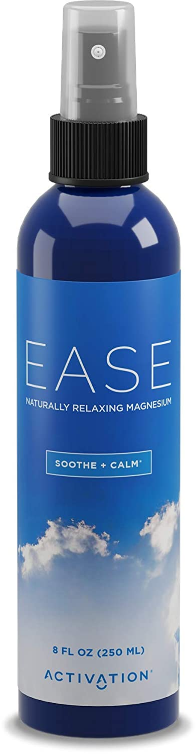 Activation Products Ease Magnesium Spray - Pure Magnesium for Joint and  Muscle Pain, Leg Cramp Relief - Sleep Supplement for Restless Leg Syndrome