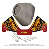 FMF Racing End Cap Kit for Factory 4.1RCT - Stainless Steel 040641