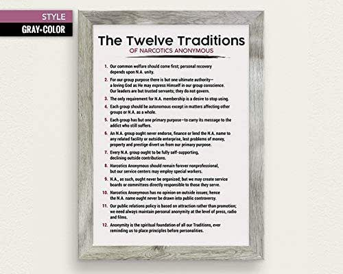Amazon.com: The Twelve (12) Traditions of Narcotics ...