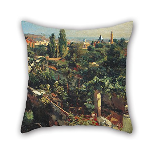 [Slimmingpiggy The Oil Painting Francesc Gimeno - The Grapevines Pillowcase Of ,20 X 20 Inches / 50 By 50 Cm Decoration,gift For Wedding,chair,birthday,girls,coffee House,car (2] (Tangled Costume Ideas)