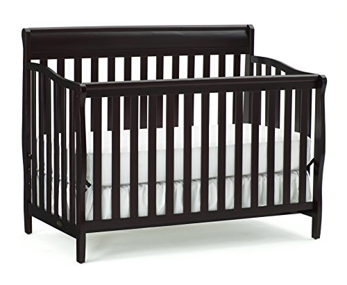 Grow Sleigh Crib (Graco Stanton Convertible Crib, Espresso)