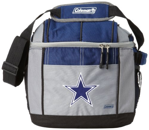 NFL Dallas Cowboys 24 Can Soft Sided Carry Coleman Cooler