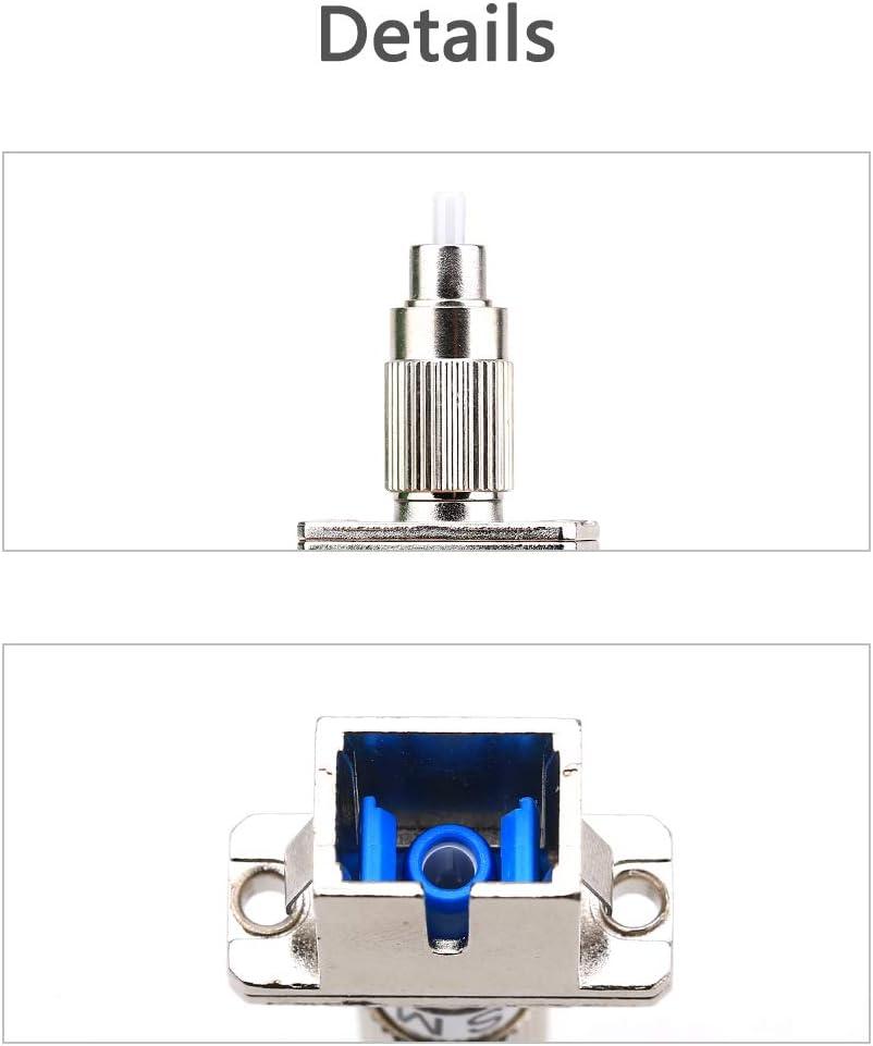 FTTH Bride hybride FC m/âle vers SC femelle monomode 9//125 SM /à fibre optique pour communication num/érique