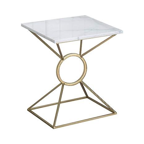 Amazon.com: ZHIRONG Mesa auxiliar moderna nórdica para sala ...
