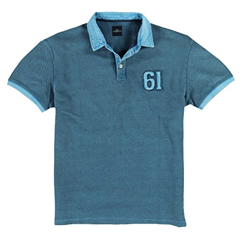 engbers Herren Poloshirt, 24332, Türkis