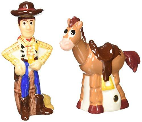(Westland Giftware Woody and Bullseye Salt and Pepper Shakers)
