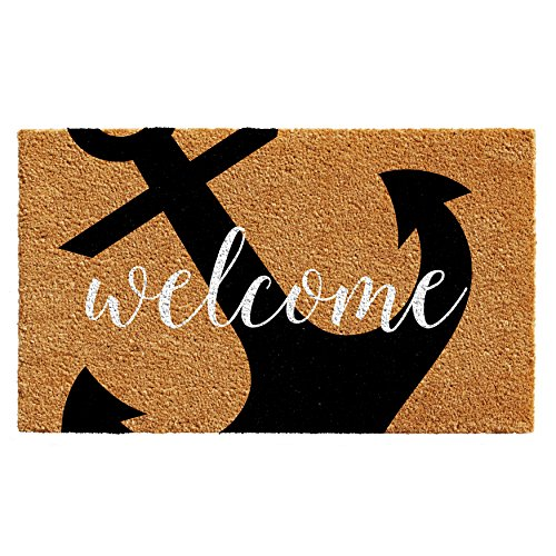Calloway Mills 103122436 Anchor Welcome Doormat, - Welcome Mat Aboard