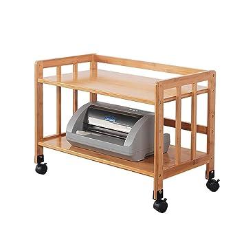 Qifengshop Estante para Impresora Piso Dos Estante Tres ...