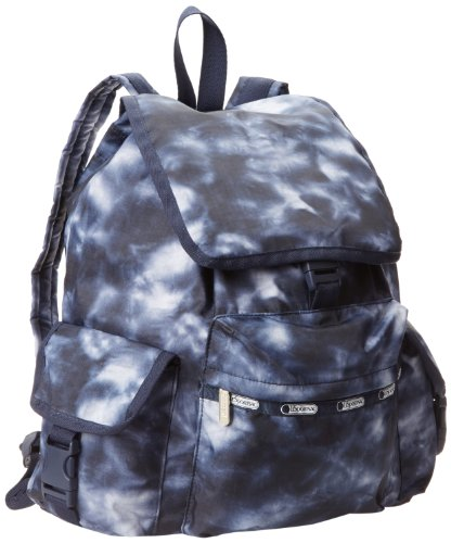 LeSportsac Voyager Backpack Handbag,Aquarius,One Size