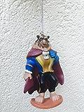 Disney Beauty & the Beast The Beast Holiday Christmas Tree Ornament 4'' Pvc Figurine Figure Doll Toy