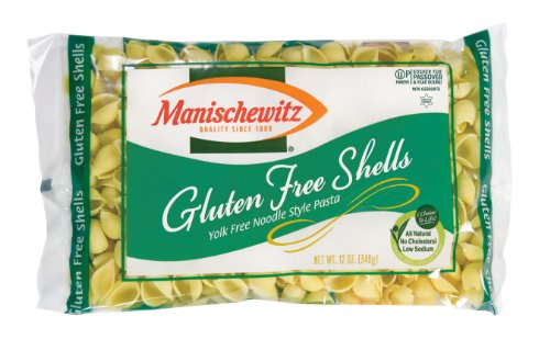 Manischewitz Gluten Free Shell Shaped Noodles, 12 Ounce