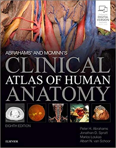 Abrahams' and McMinn's Clinical Atlas of Human Anatomy E-Book, 8th Edition - Original PDF