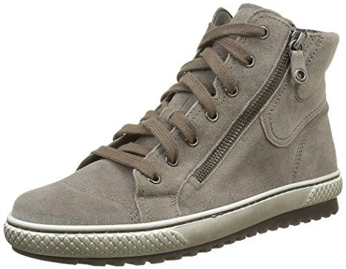Gabor Shoes 53.754 Sneakers Alte Da Donna Grigie (wallaby 13)