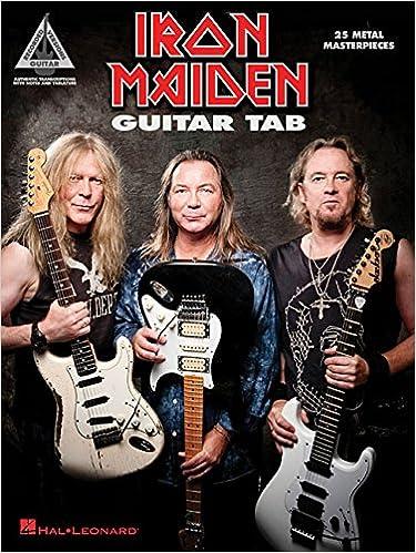 Iron Maiden - Guitar Tab: 25 Metal Masterpieces Guitar Recorded Version: Amazon.es: Iron Maiden: Libros en idiomas extranjeros