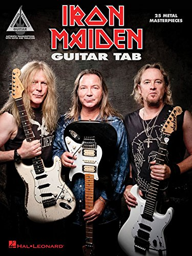 Iron Maiden - Guitar Tab: 25 Metal Masterpieces (Guitar Recorded Version) [Iron Maiden] (Tapa Blanda)