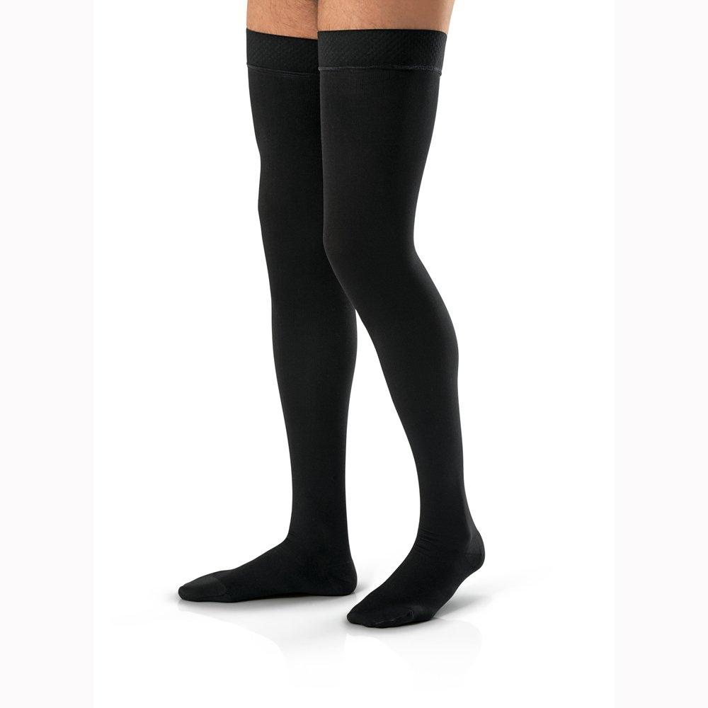 BI115411 - Bsn Jobst Jobst For Men Thigh High, 20-30 mm,Black,E-Large by Bsn Jobst