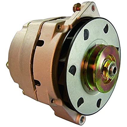 New Alternator Delco 12SI 94 AMP 12 Volt V Drive Pulley CW For AMC GM CLARK  HYSTER 1983-1990