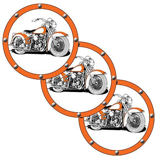 Partypro HAWG Motorcycle Deco FETTI (24 Piece/PKG)