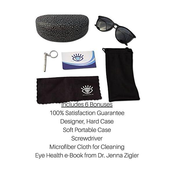 d1f2c7c1ed8 Polarized Sunglasses for Women by Eye Love w UV Protection   Designer Style  100% UV ...