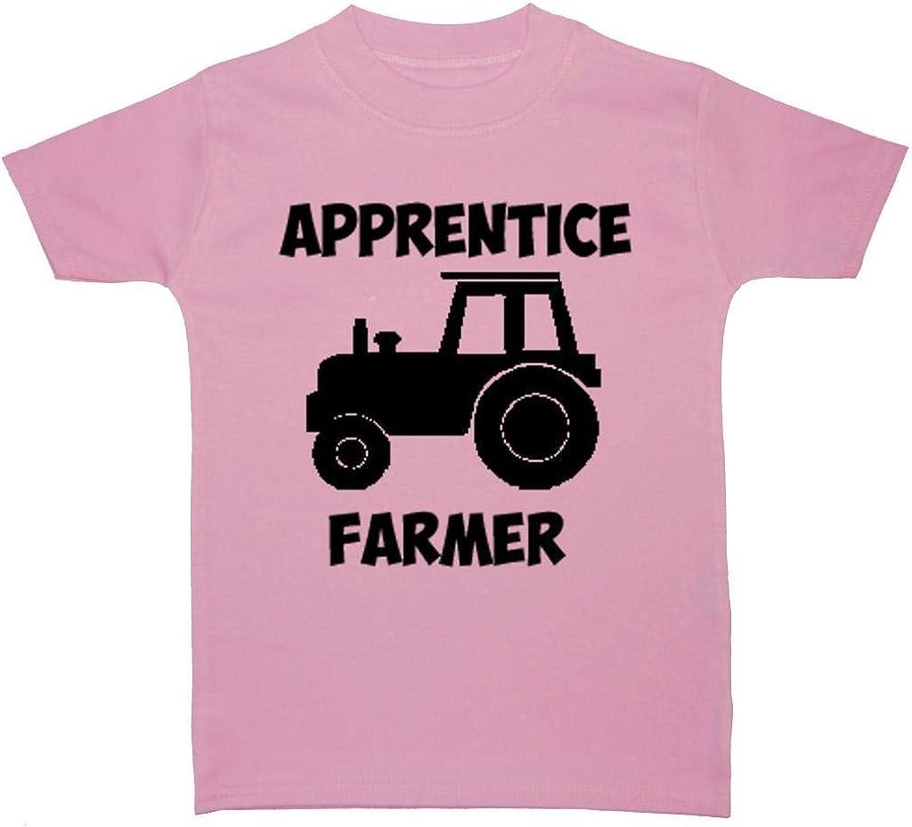 Acce Products - Camiseta infantil para aprendiz de granjero (0 a 5 años): Amazon.es: Ropa y accesorios