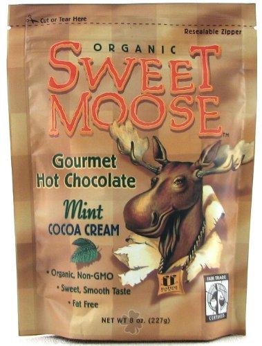Sweet Moose Chocolate Mint Cocoa - 8 oz - Powder (Sweet Moose)